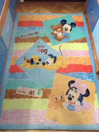 Alfombra infantil Disney de 1m x 1.5 m