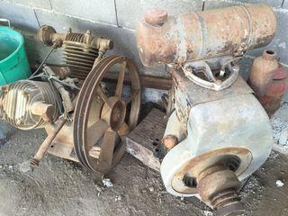 Motor Campeon De Gasolina Y Compresor De Aire