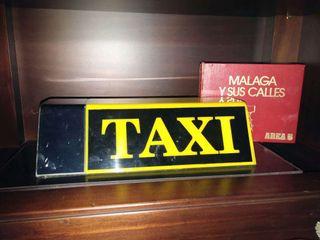 Capilla Taxi malaga y callejero.