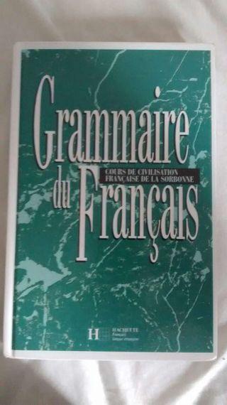 Libros de francés Grammaire du français