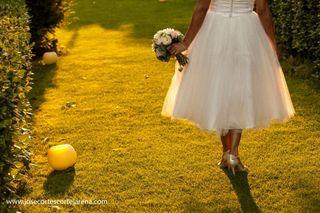 Vestido de novia Aire Barcelona- precio negociable