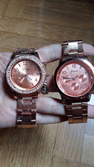 Relojes oro rosa
