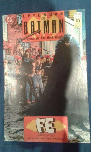 Coleccion comics Batman Leyendas - Fe