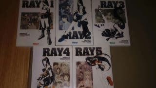 Ray manga 5 tomos