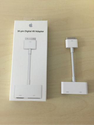 Adaptador HDMI para Iphone 4, 4S y iPod touch 4 Generacion