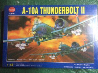 Maqueta Avion A-10A Thunderbolt II 1/48