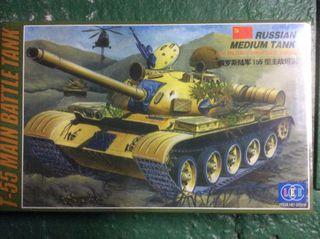 Maqueta Tanque Ruso T-55