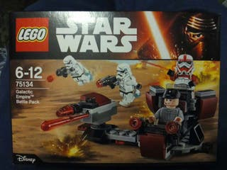 "LEGO Star Wars 75134 Galactic Empire Battle Pack (Pack de combate del Imperio Galáctico) ""nuevo"""