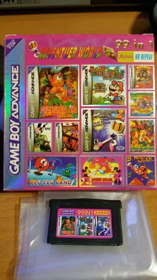 Gameboy Advance 99 in 1