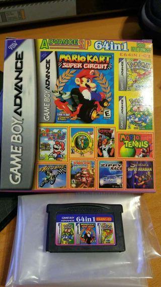 Gameboy Advance 64 in 1