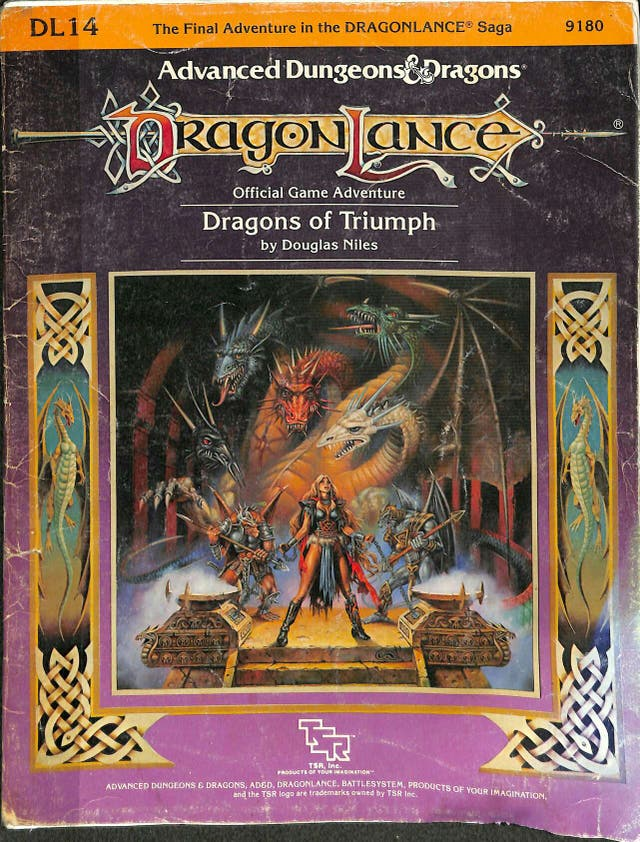 DRAGONLANCE DRAGONS OF TRIUMPH