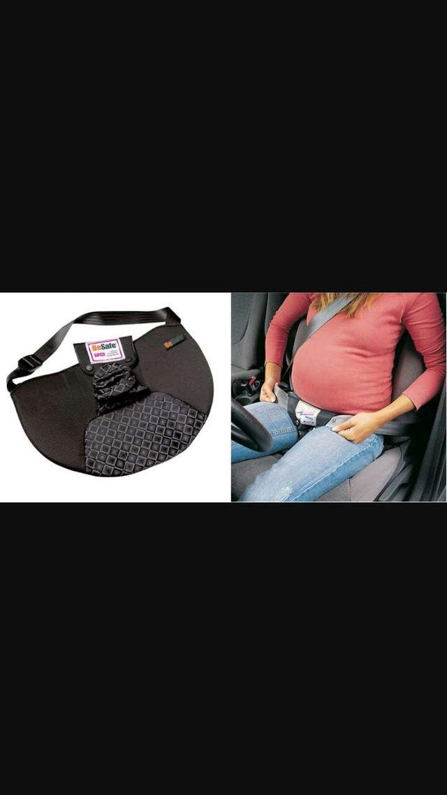 Adaptador cinturon seguridad embarazadas