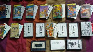 Colección videojuegos Amstrad CPC 464-664-6128