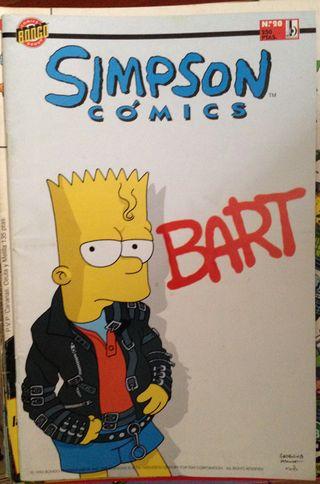 Comic Los Simpsons