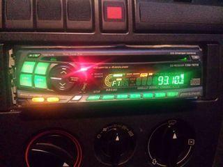 Radio CD alpine para coche