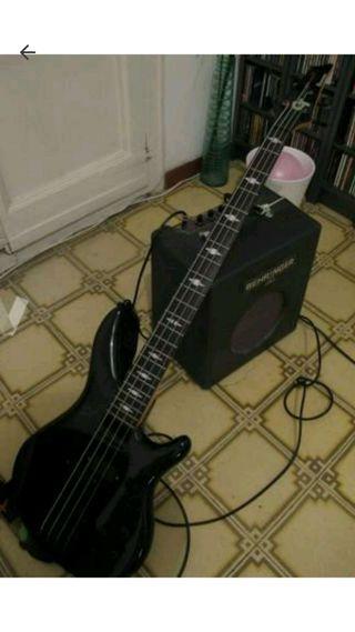 Bajo + amplificador