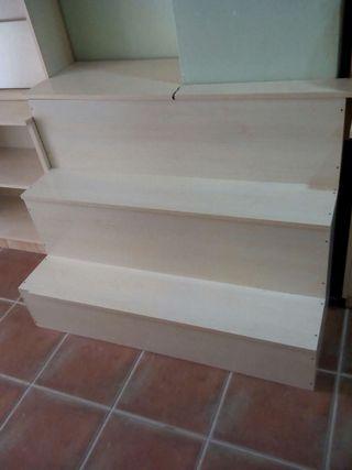Escalera para escaparate