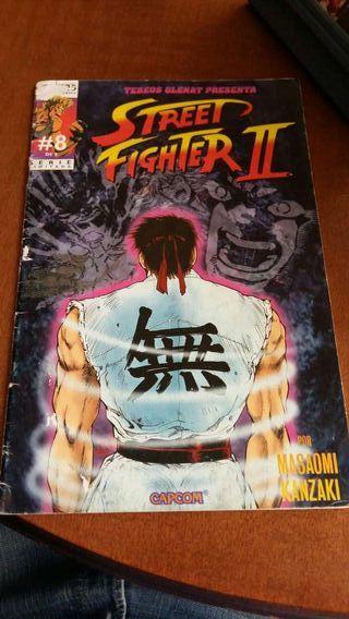 Comics de Street fighter II en español. *