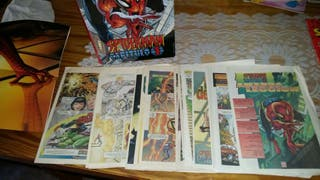 Comics spiderman colección marca 2002 *