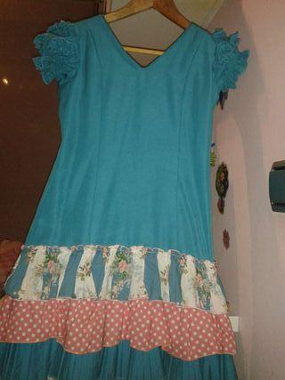 Traje de flamenca talla 10