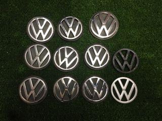 logos traseros vw golf mk3