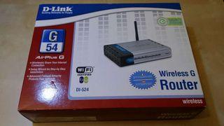 Router Wifi D-Link G54 DI-524 nuevo