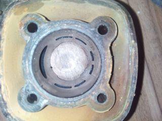 Cilindro motor piallo de agua polini corsa 74cc