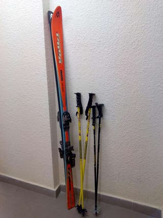 Esquíes \ skis Volki Curver