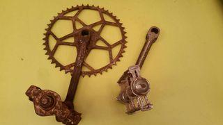 Partes bicicleta de varilla varillas