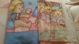 Lote mantas de bebe