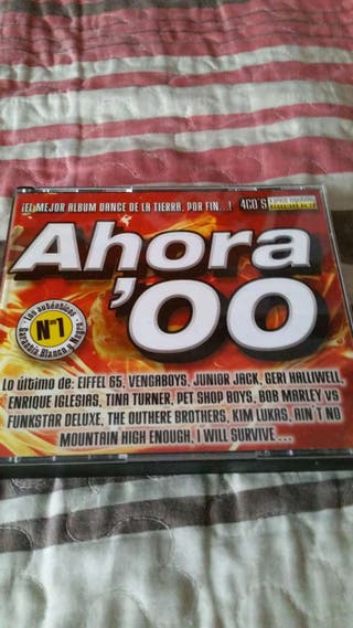 4 Cd ahora'00 2000 dance pop rock house exitos