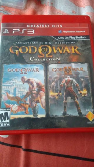 God of war collection ps3 sin usar