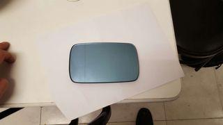 Espejo bmw e46 original, azulado calefactado, gran angular.
