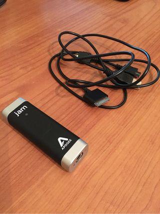 Apogee Jam - Interfaz de audio para guitarra