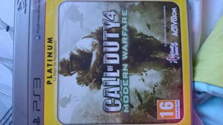 Juego ps3 call of duty4,