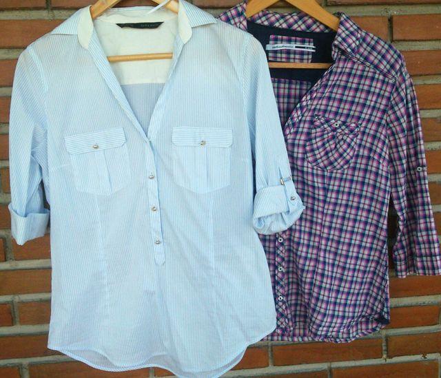 Lote dos camisas mujer talla L