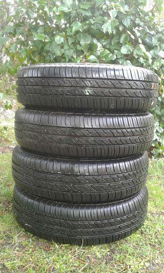 precio de las 4 ruedas Firestone 165/70R14
