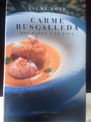 Libro Cocina Carmen Ruscalleda