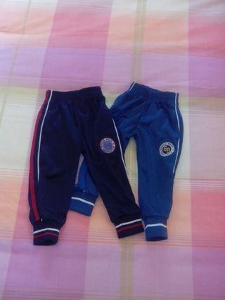 Pantalones chandal talla 2 años
