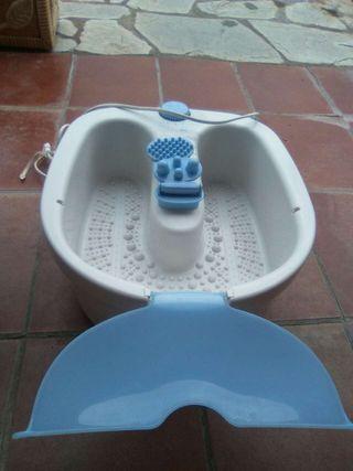 Baño masaje pies