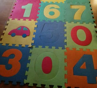 Puzzle Manta de números