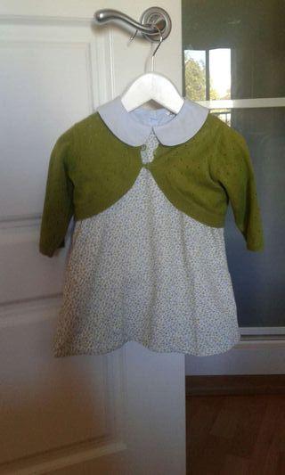 Conjunto de vestido, camisa y Rebeca