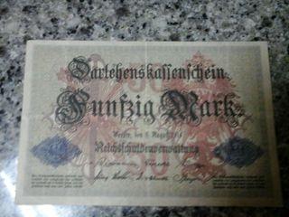 50 Marcos Alemanes 1°GUERRA MUNDIAL
