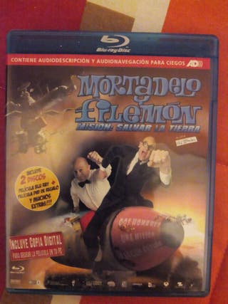 Bluray Mortadelo y Filemon mision salvar la tierra