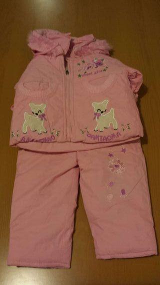 Conjunto invierno niña 1-2 años