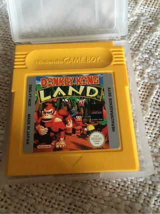 Game Boy Donkey Kong Land