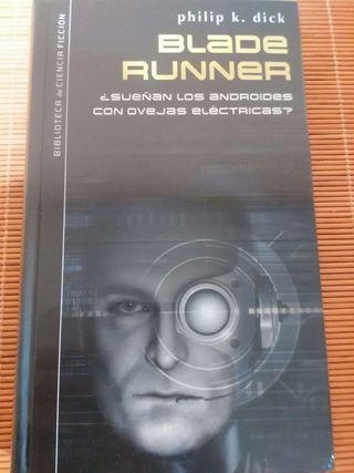 Libro ciencia ficción. Blade Runner