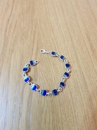Pulsera color azul nueva