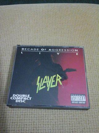 DOBLE CD DE SLAYER ( LIVE ) ( IMPORTADO )