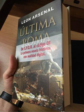 """Libro """"Ultima Roma"""""""